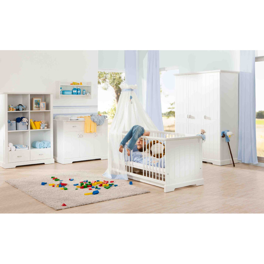 Kinderzimmer Geuther Bianco Geuther Cameretta Cottage Con Armadio A 3 Ante
