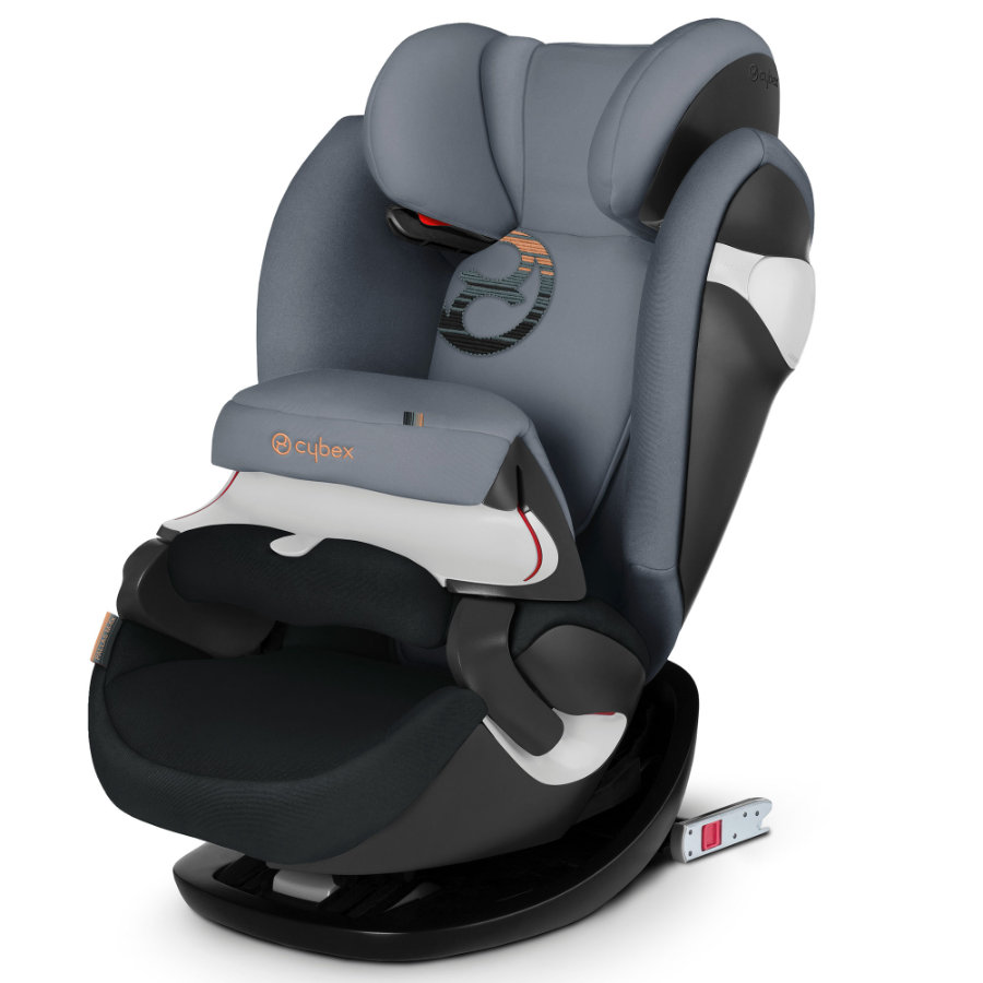 Sedia Per Bambini Auto Cybex Gold Seggiolino Auto Pallas M Fix Pepper Black Dark Grey
