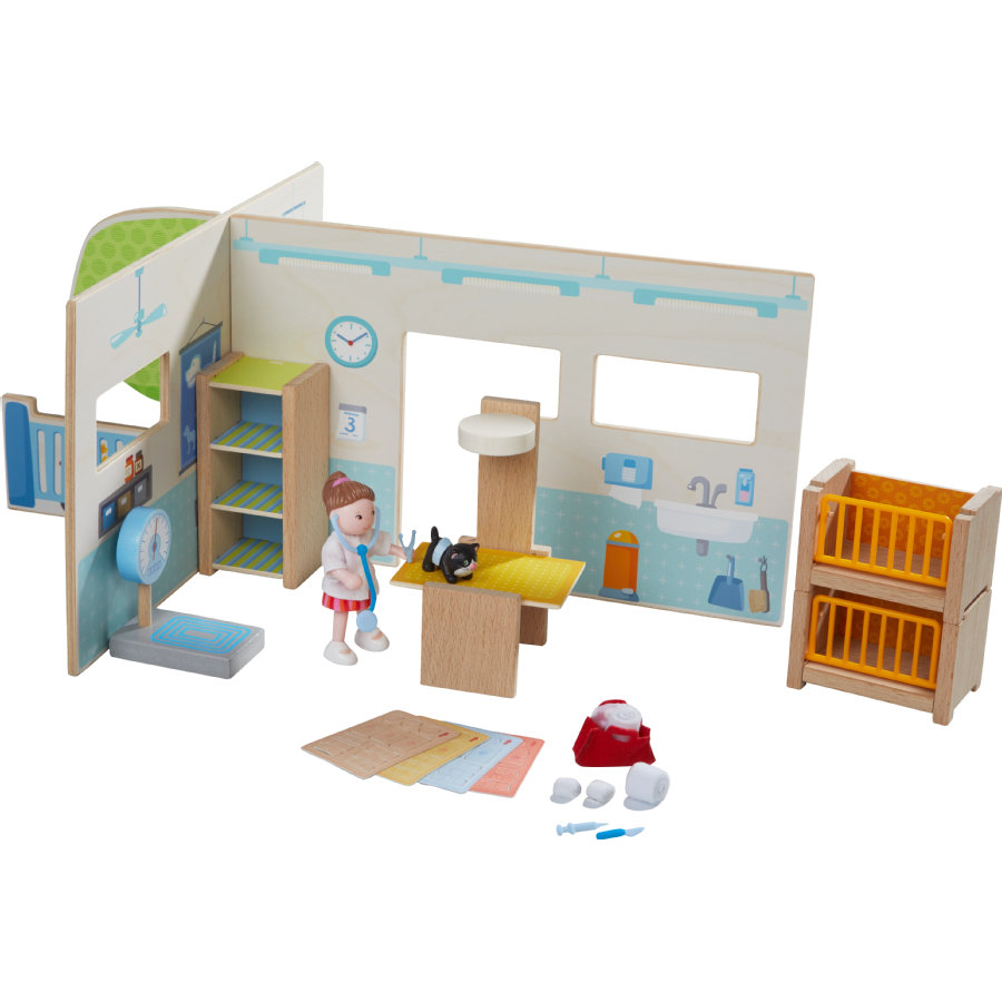 Haba Little Friends Esszimmer Haba Little Friends Tierklinik 303895
