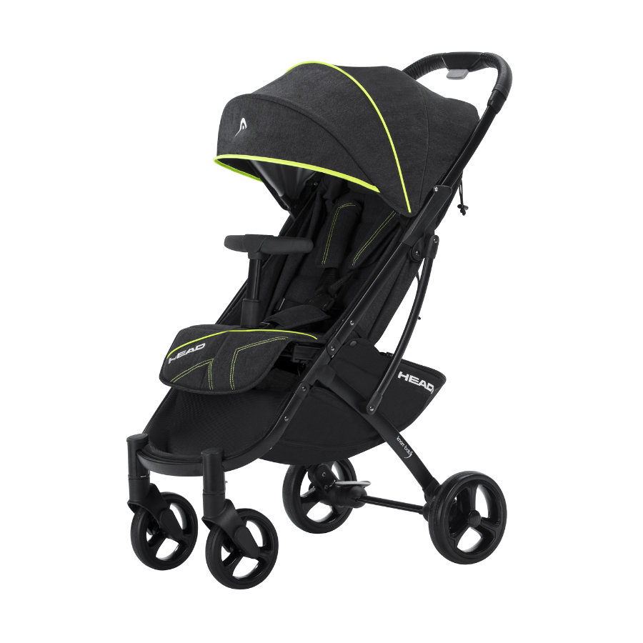 Knorr Baby Buggy Styler Test Knorr Baby Buggy Head Darkgrey Yellow