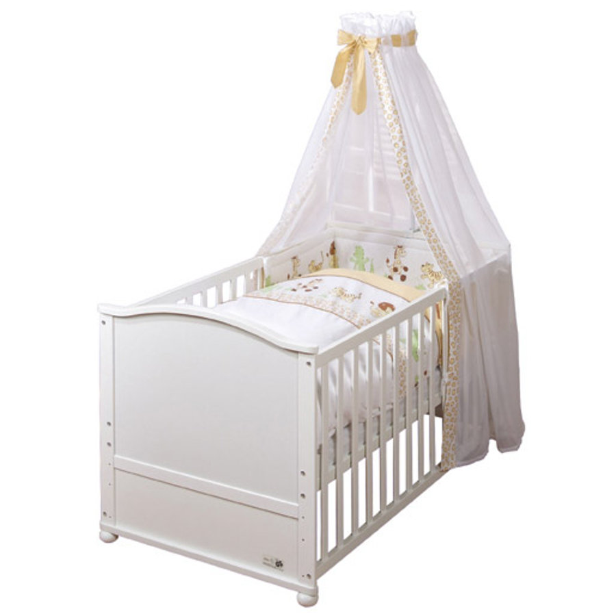 Roba Complete Bed Set Safari White Varnished Babymarkt Com