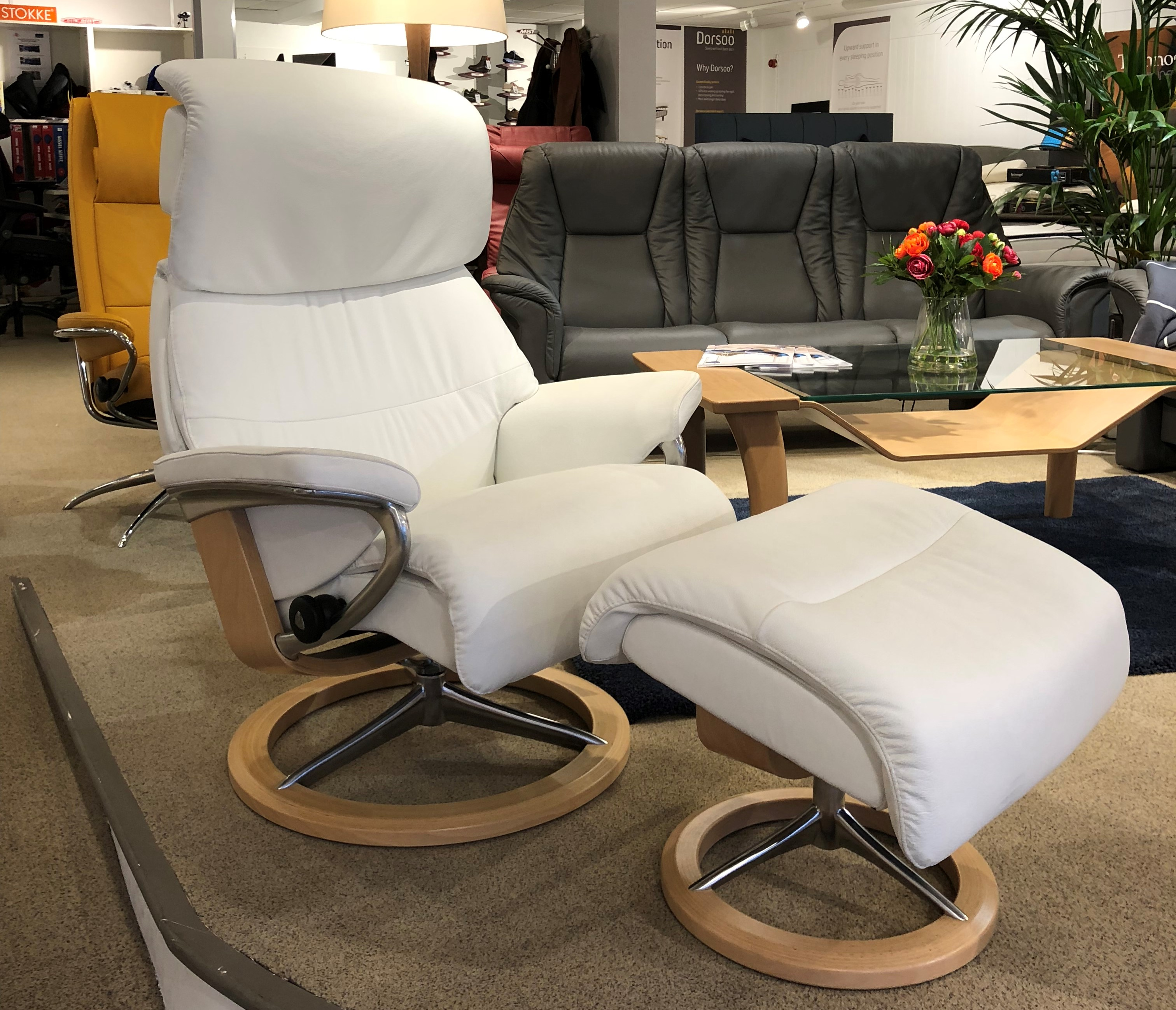 Stressless Magic Signature Sessel Stressless Capri Recliner By Ekornes Back In Action