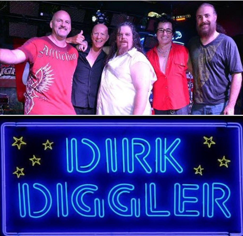 Wolf System Dirk Diggler Band & Hangar5 - Band In Hollywood Fl