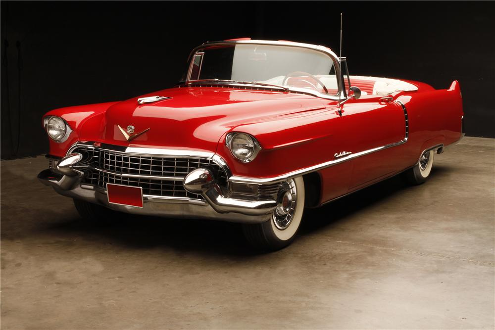 1957 Cars Restored Or Wallpapers 1955 Cadillac Series 62 Convertible 132697