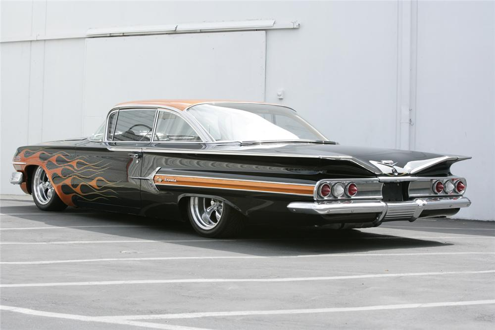 1960 chevy impala bubble top custom