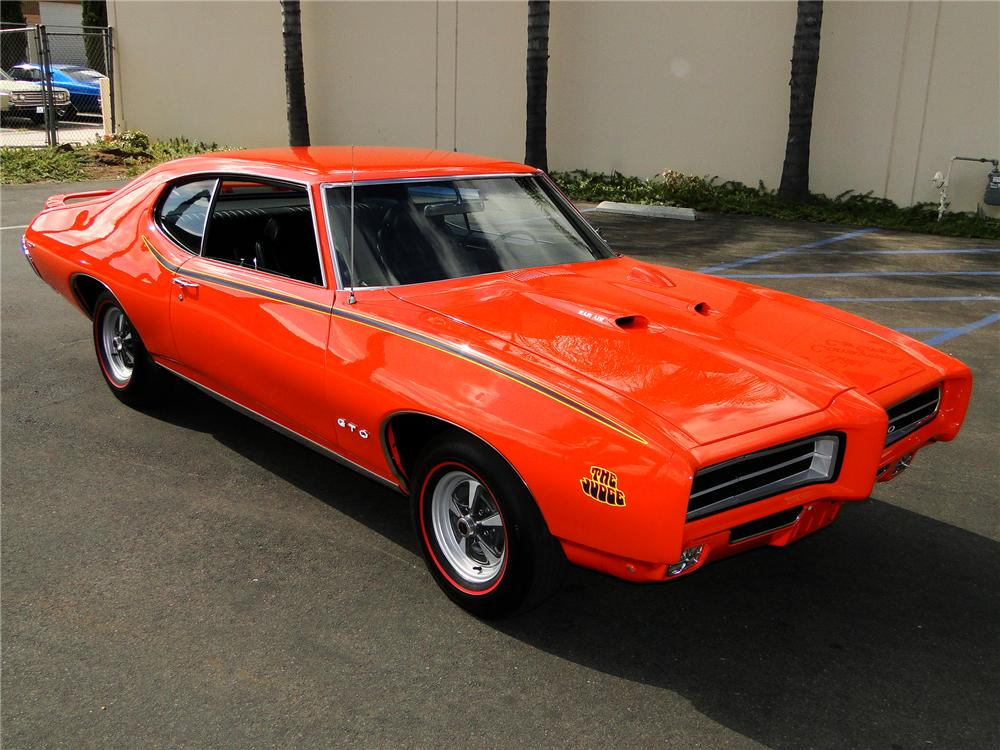 Project Cars Wallpaper Red 1969 Pontiac Gto Judge Coupe 93996