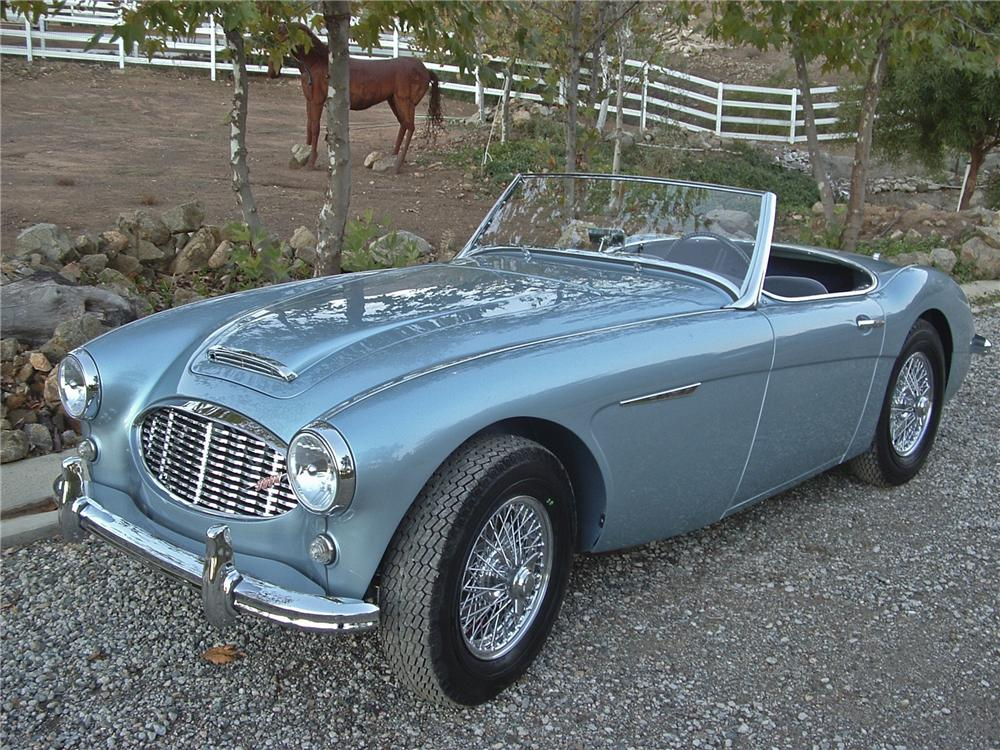Home Staging Austin 1960 Austin-healey 100-6 Bn6 Roadster