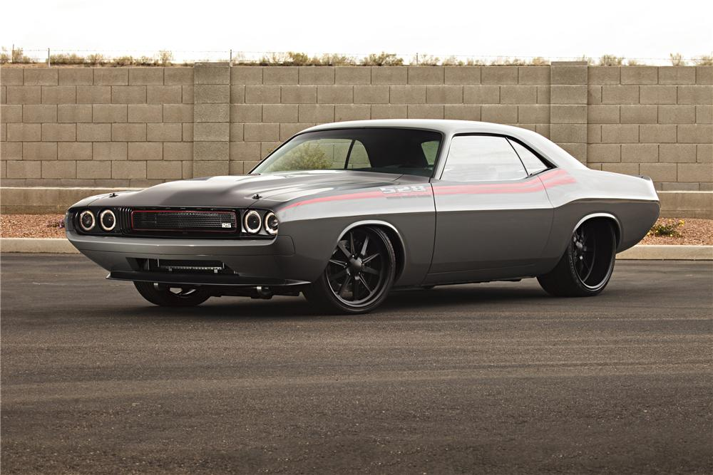 Dodge Muscle Car Wallpaper 1970 Dodge Challenger Custom Coupe