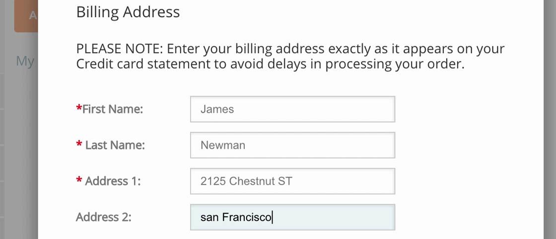 Form Usability Getting \u0027Address Line 2\u0027 Right - Articles - Baymard