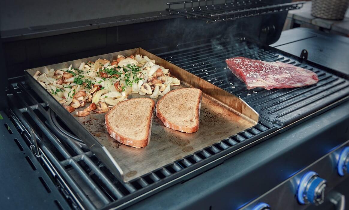 Außenküche Selber Bauen Testsieger : Plancha grill selber bauen fire bowl the best test