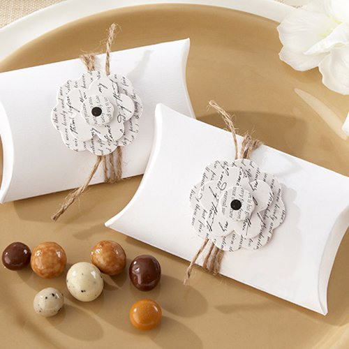 Personalized Love Letter Pillow Favor Boxes