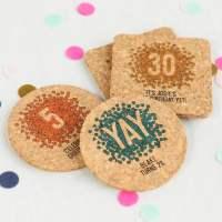 Personalized Coasters, Custom Cork Coasters, Cork ...