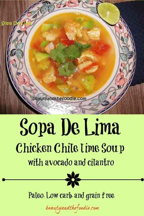 Paleo Chicken Sopa
