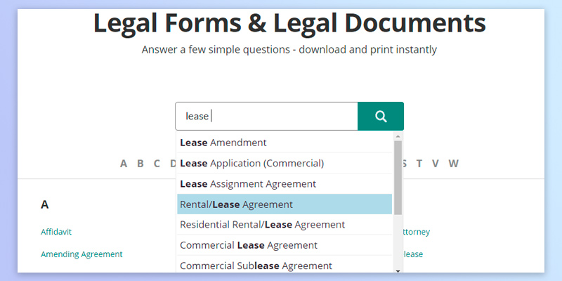 5 Best Lease Agreement Forms Reviews of 2017 - BestAdvisor - lease agreement