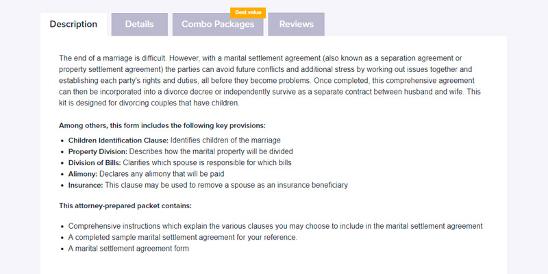 5 Best Separation Agreement Services and Forms Reviews of 2019