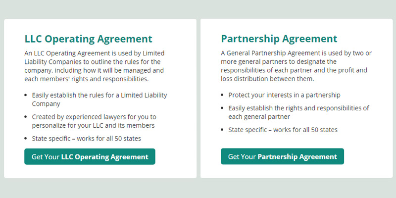5 Best Partnership Agreement Services and Forms Reviews of 2018 - partenership agreement