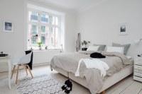 Bedroom design in Scandinavian style