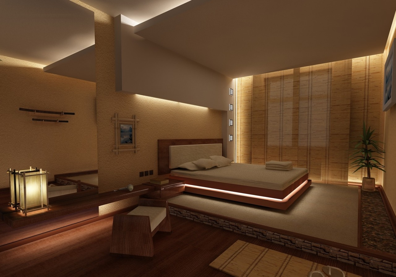 Japanese Bedrooms Style Bedroom In Japanese Style