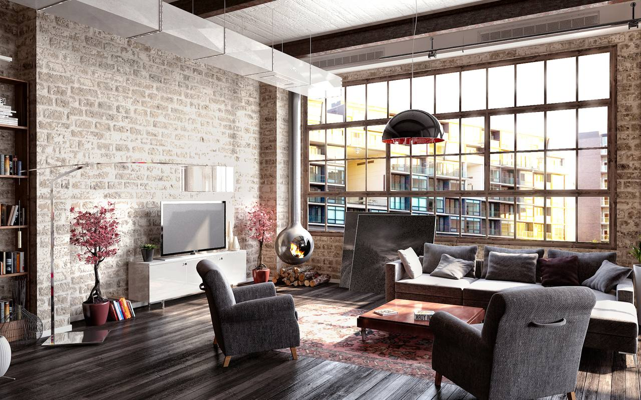 Modern Decor How To Create A Modern Interior In Loft Style