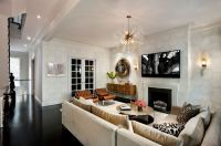 Eclecticism in interior design: New York townhouse in a