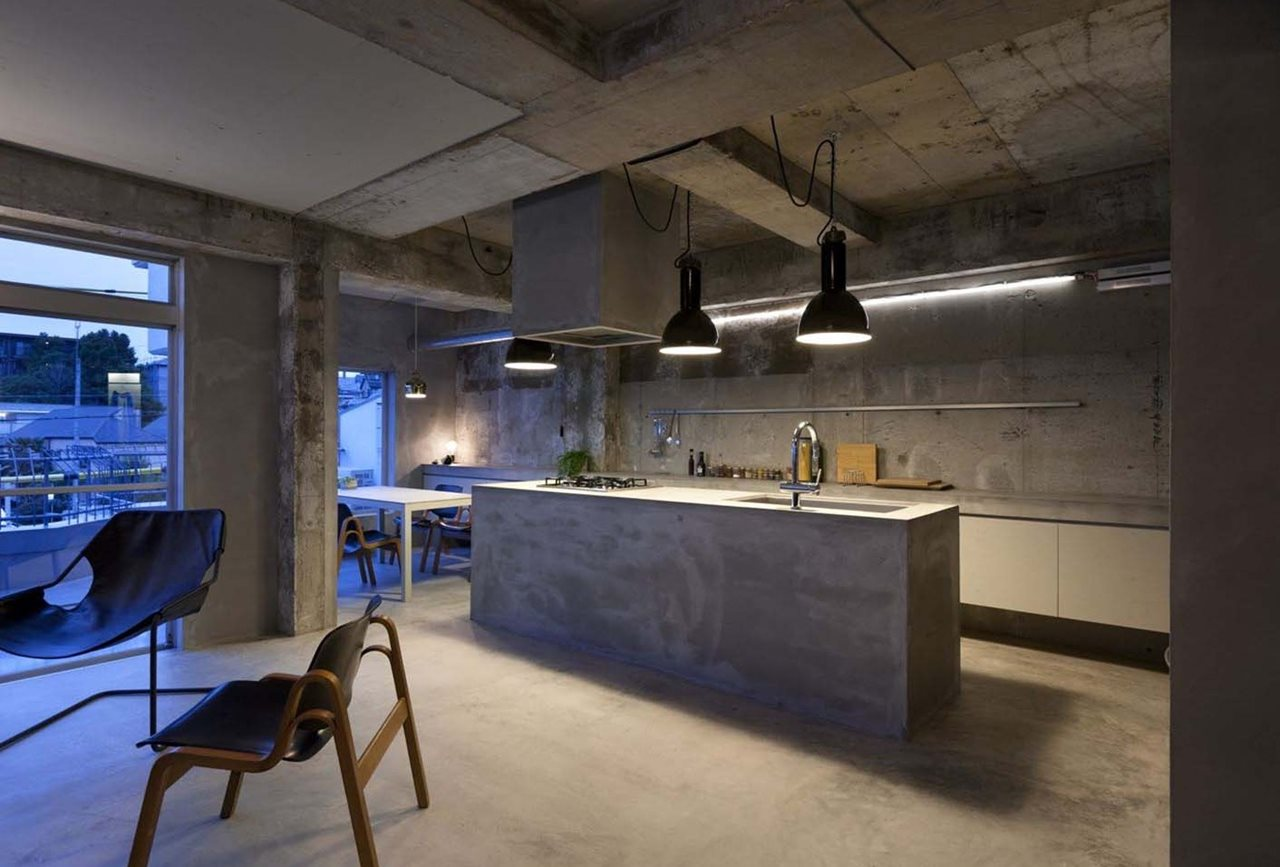 Concrete House Interior Interior Design A Concrete Apartment