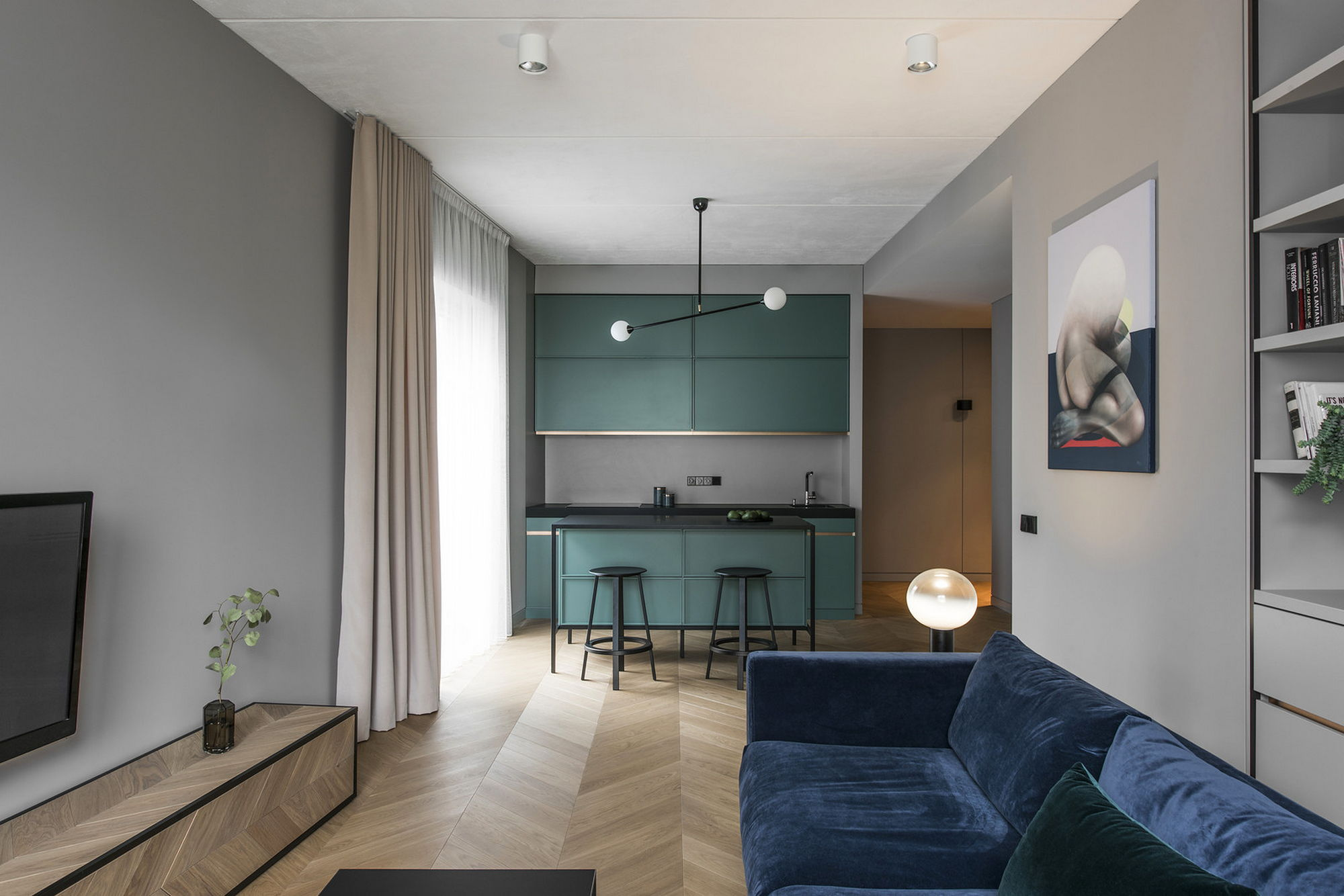 Apt Designs Interior Of The Apartment In Vilnius