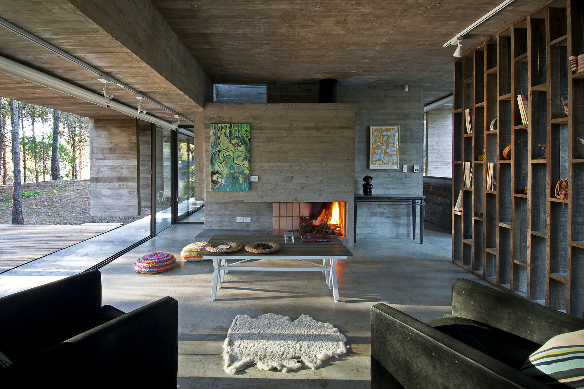 Concrete House Interior Country House Austrian Chalet With Amazing Interior Made