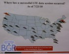 Verizon Wireless has conducted successful LTE data calls in 34 markets - Image 1 of 1