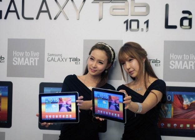 Samsung Tablet Design