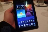 Verizon Samsung Galaxy Tab 7.7 hands on - Image 1 of 12