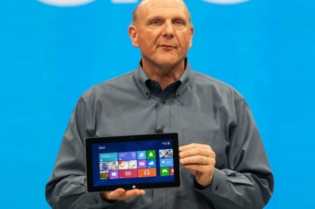 Ballmer Surface RT Windows 8