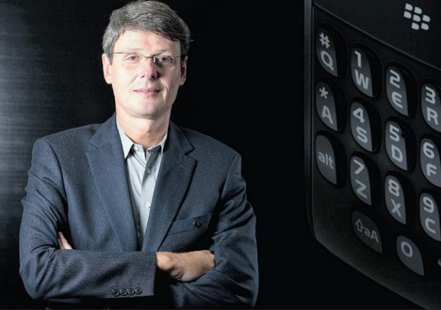 BlackBerry CEO Heins