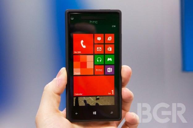 Windows Phone Update On-Screen Buttons