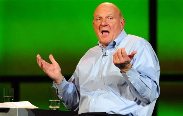 Microsoft CEO Ballmer Employee Approval Rating
