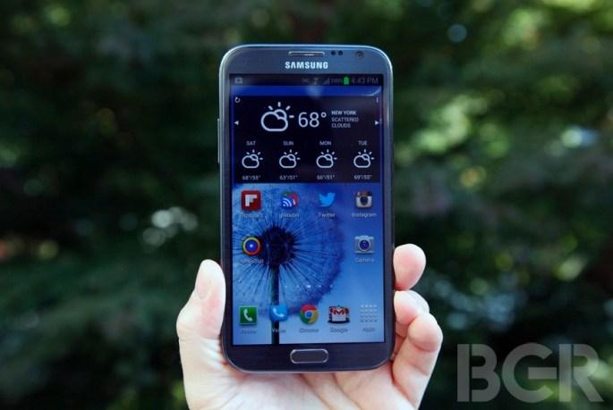 Samsung Cheaper Galaxy Note II