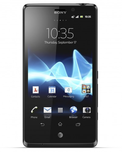 AT&T Sony Xperia TL Release Date