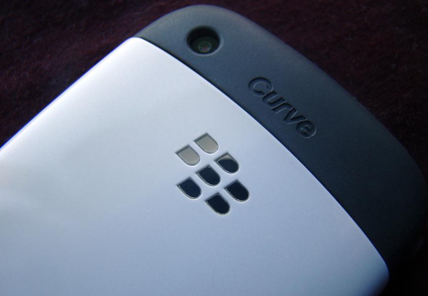 BlackBerry Market Share 2012