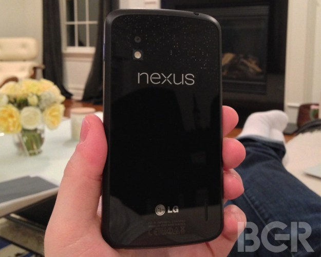 Google Nexus 4 Subsidy Rumor