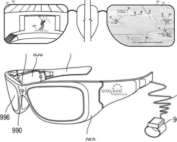 Microsoft HUD Glasses