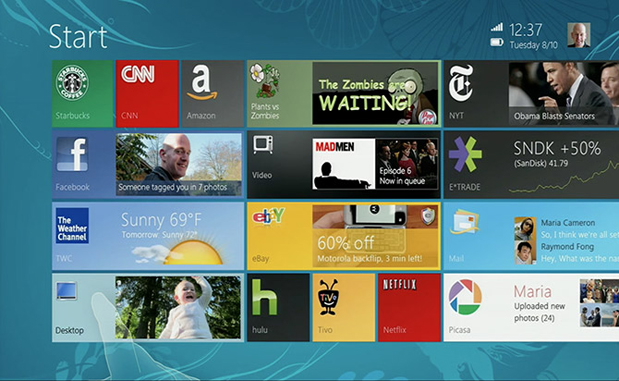 Windows 8 Mockups
