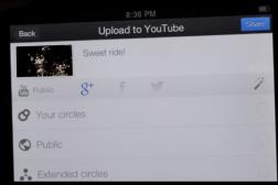 YouTube Capture iOS