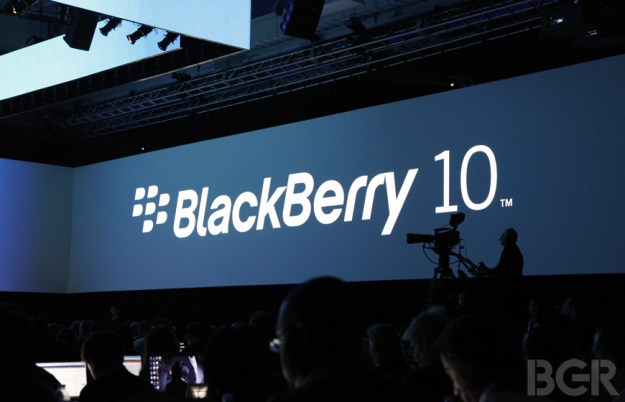 BlackBerry 10 Apps Milestone