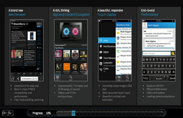 BlackBerry 10 Specs