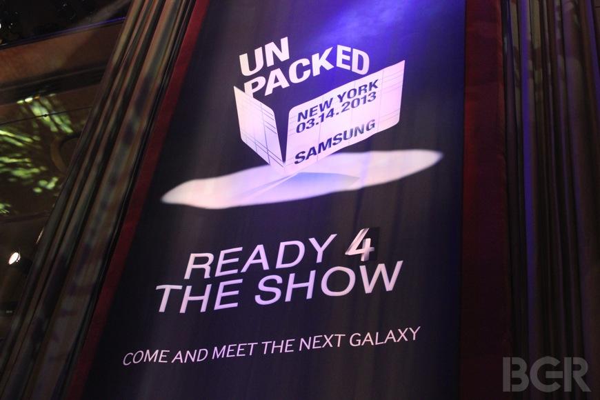 Samsung Galaxy S 4 Liveblog