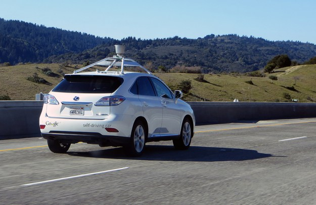 Google self-driving car update