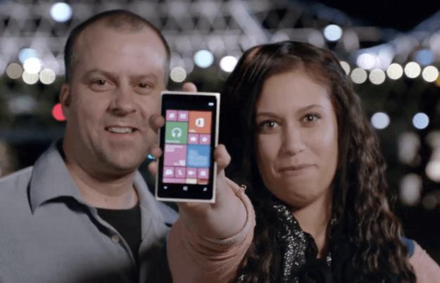 Microsoft Samsung Attack Ad