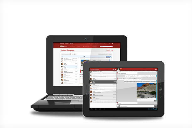 iMessage Clone Verizon Messages App
