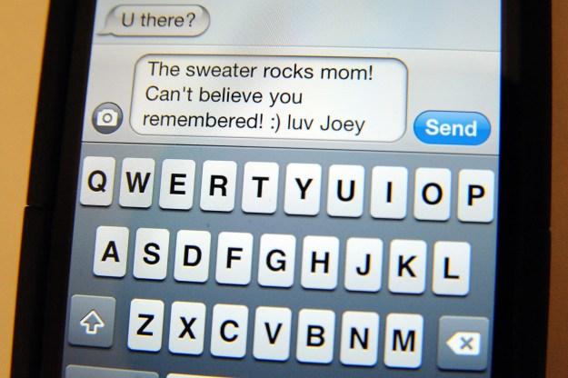 Carrier Text Message