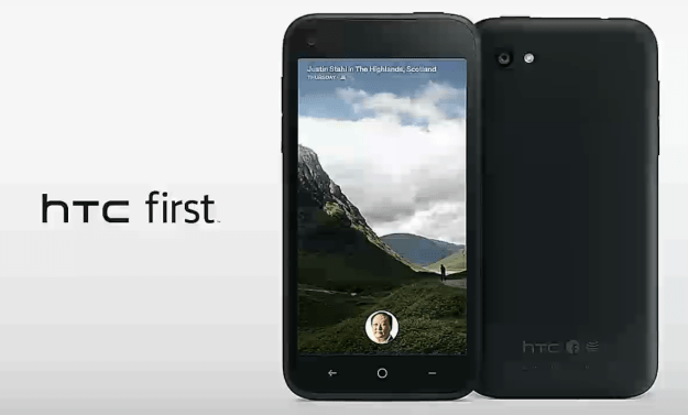Facebook HTC First
