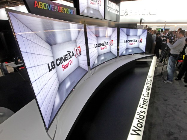 LG's curved OLED displays coming in second half of 2013
